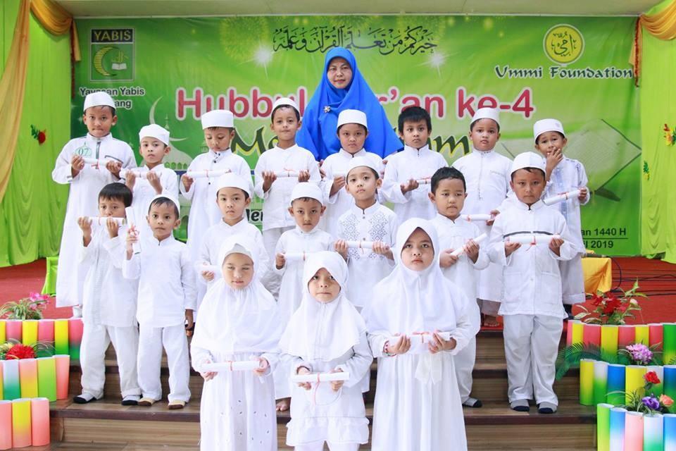 Menteladani Al-Quran, TK IT YABIS Menggelar Hubbul Quran Metode Ummi