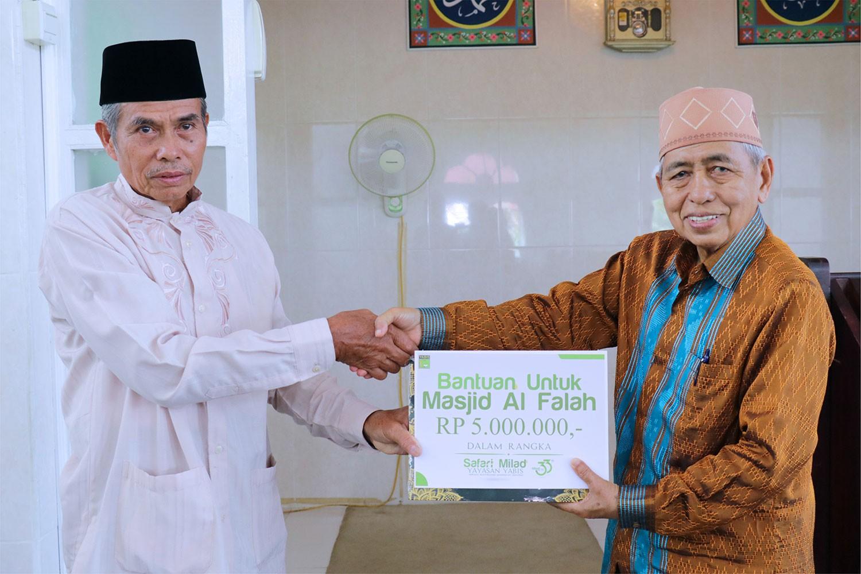 Yayasan Yabis Kembali Gelar Safari Milad, Kunjungi Masjid Al Falah Kanaan