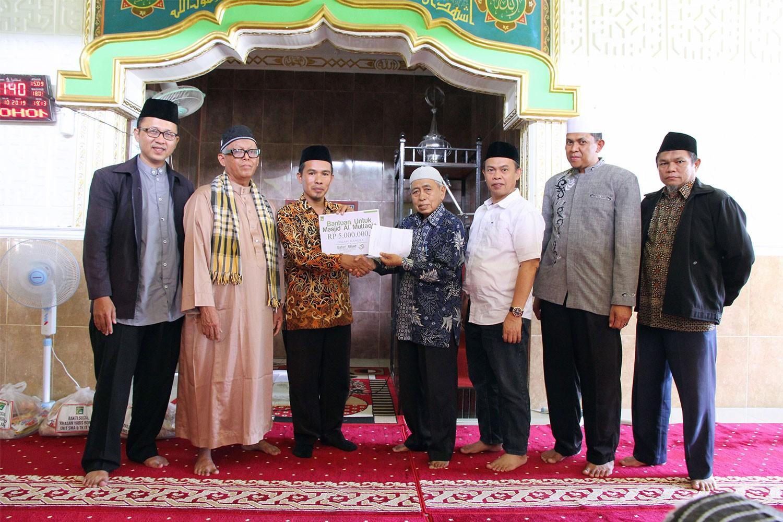 Capai Usia ke-33, Yayasan Yabis Awali Safari Milad ke Masjid Al Muttaqin