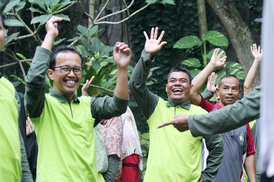 Bangun Kekompakan Team, Yayasan Yabis Gelar Outbound