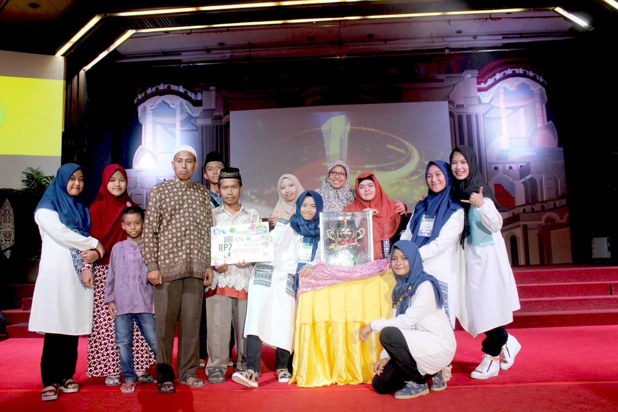 SMP Yabis Bontang berhasil keluar sebagai juara umum