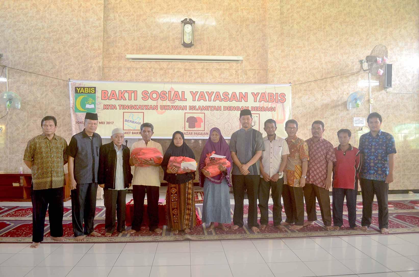 Sambut Ramadhan Yayasan Yabis Gelar Bakti Sosial tahun 2017